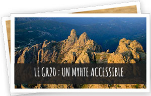 Article Blog Snowleader : GR20 Mythe accessible
