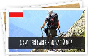 GR20 : préparer son sac à dos Blog Snowleader