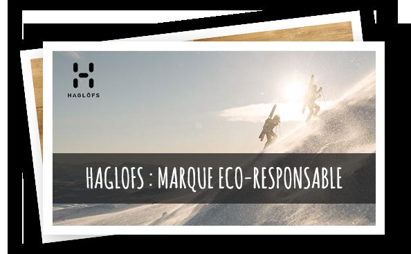 Haglofs : marque éco-responsable