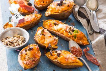 Patates douces et Reblochon