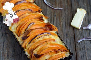 Tarte Reblochon et patate douce