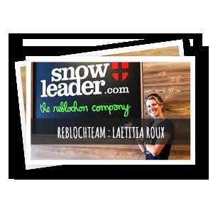 laetitia roux rebloch'team