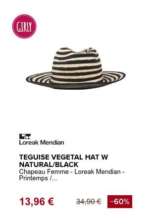 loreak mendian teguise chapeau de plage