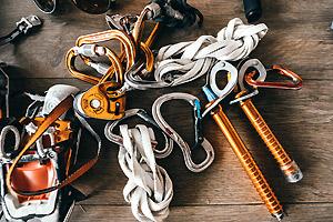 équipement d'alpinisme Petzl