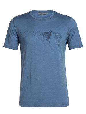 tee-shirt mens tech lite ss crewe