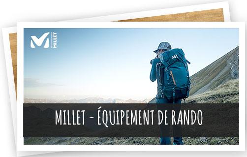 equipement de randonnée Millet