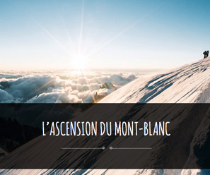 mont-blanc préparer l'ascension