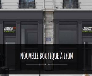 nouvelle boutique snowleader à lyon