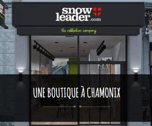 nouvelle boutique snowleader à chamonix