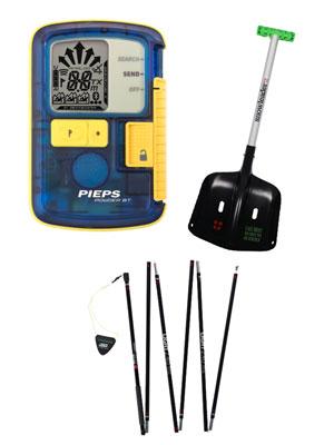 Pack Powder BT Pieps ( DVA )  + Snowleader ( Pelle et Sonde )