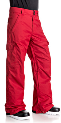 Pantalon de ski homme DC Shoes Banshee rouge