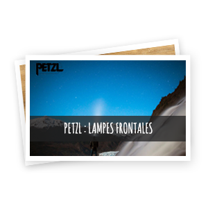 petzl lampes frontales