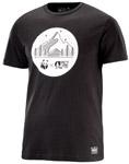 t-shirt picture homme WWF noir