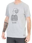 t-shirt picture homme gris gueule de bois