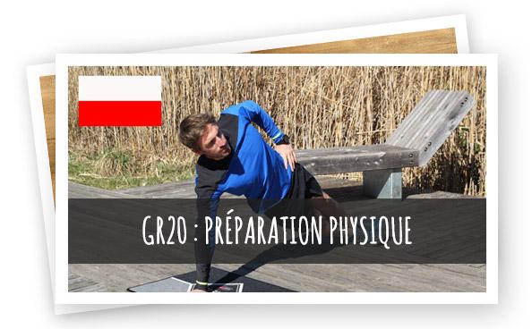 préparation physique GR20