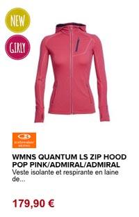 Quantum Icebreaker veste femme