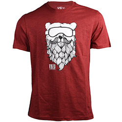 Rancho Ours Tee Burgundy