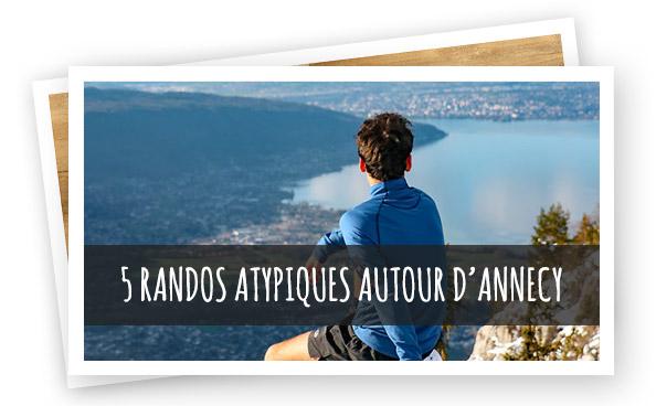 5 randos autour d'Annecy