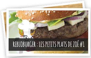 Blog Snowleader - Rebloburger recette