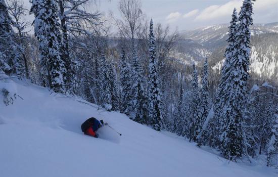 Voyage Rebloch'team ski en Sibérie