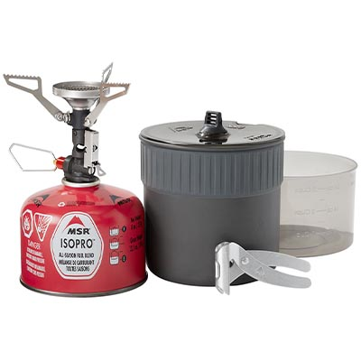 Pocket Rocket Deluxe Stove Kit - MSR