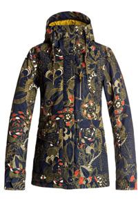 La veste de ski Roxy Andie, très tendance avec ces motifs fleuris