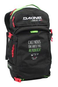 cadeau Noël sac Dakine x Snowleader