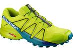 chaussures de trail homme salomon speedcross4 vert clert