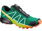 chaussures de trail homme salomon speedcross4 vert foncé