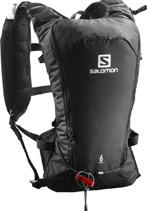sac a dos randonnée salomon agil 6 noir