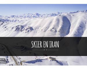 Avec ses incroyables montagnes, ses importantes chutes de neige en hiver, ses stations de ski, l'Iran devient de plus en plus tendance pour skier