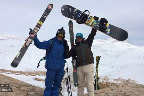 Contrairement aux idées reçues, skier en Iran est sûr