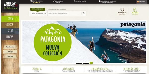 Snowleader lance son site espagnol