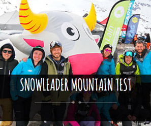 snowleader mountain test