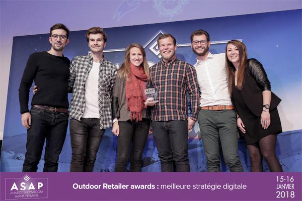 Snowleader récompensé de la meilleure stratégie digitale