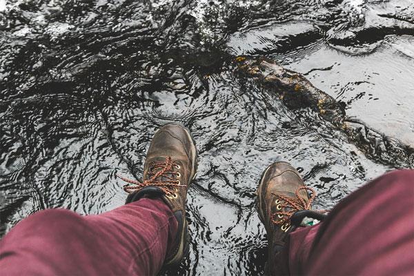 soin de pieds avant GR20