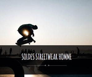 soldes streetwear homme