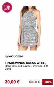 Tradewinds Dress Volcom