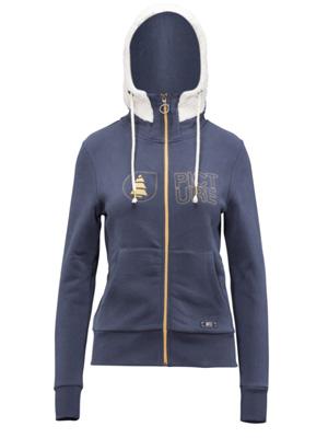 le sweat femme Picture Organic Clothing Maina zippé, tout en coton bio pour un maximum de confort