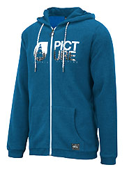 sweat basement hoody zip piture organic clothing