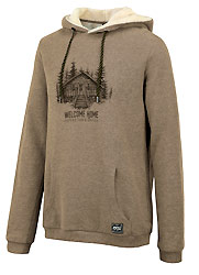 sweat woody hoody camel