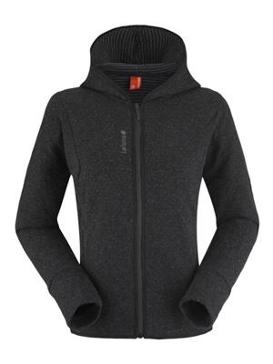 Le sweat femme zippé Lafuma LD Soho, un look moderne tout en confort et chaleur avec sa laine