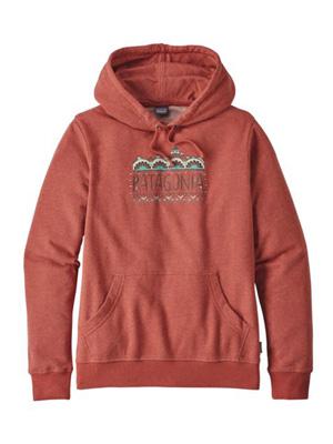 Le sweat à capuche femme Patagonia Fitz Roy, avec le logo original de la marque