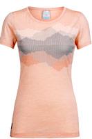 tee-shirt low sphere icebreaker femme