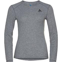 T-Shirt ML Active Warm Eco Grey Melange Odlo