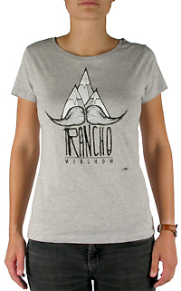 rancho tee shirt moustache