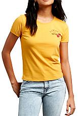 tee-shirt don't even trip femme volcom soldes