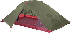 tente 2 places MSR carbon flex
