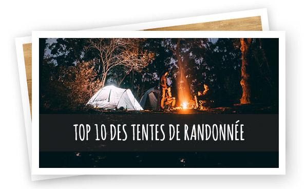 Top 10 tentes de rando