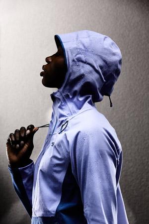veste the north face apex flex 2.0 femme capuche détail